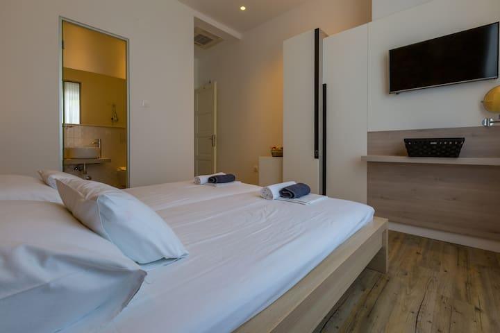 Nice room close to the sandy beach