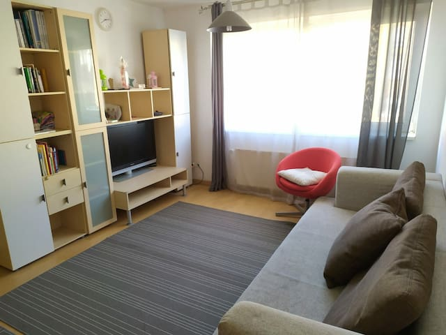 Fully Furnished 2-Room Apartment in Frankfurt