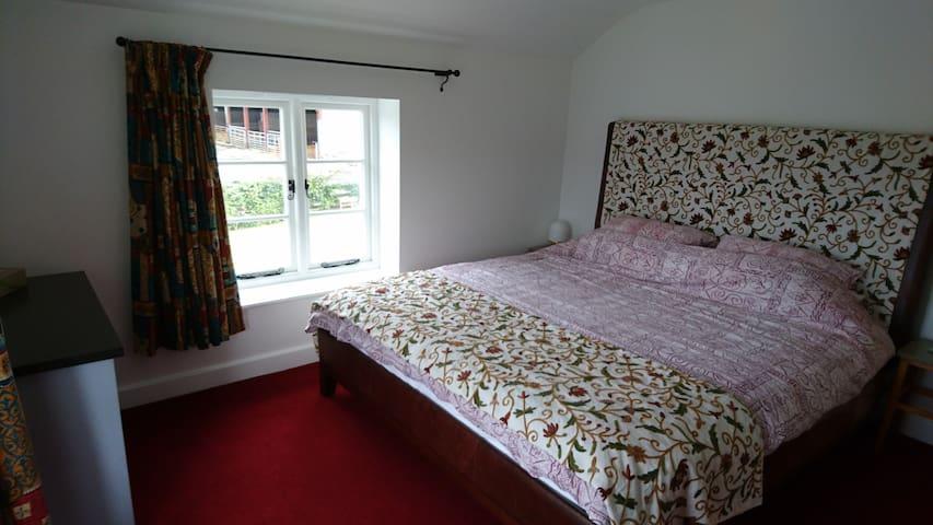 Bedroom 4 Superking memory foam bed