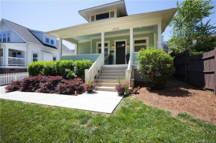 Eclectic 1930s Bungalow in Plaza Midwood