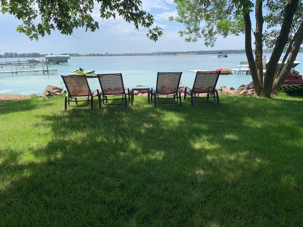 Spectacular views of Lake Madison