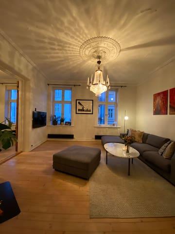Beautiful apartment with balcony at Grünerløkka