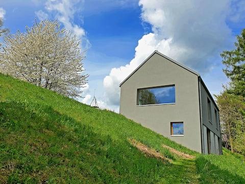 Výhledy - Minimalistický dům
