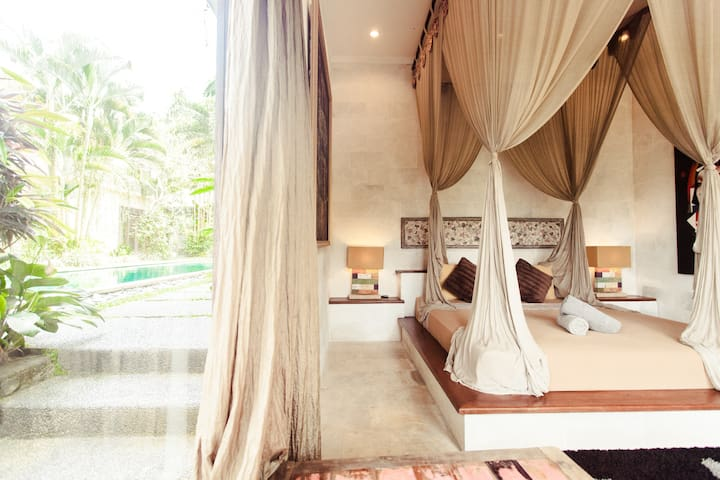 -40% last minute Fabulous Suite in a Great Villa - Ubud - Flat