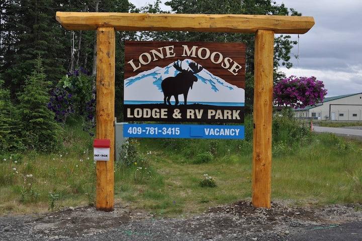 Alaskan Kenai Fishing RV spot # 5   full hookups