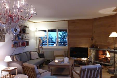 magnifique appartement 5 etoiles ,panorama de reve - Randogne