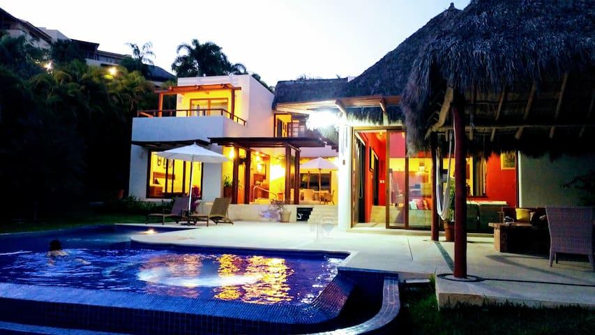 Paraíso frente al mar - Punta de Mita - Rumah