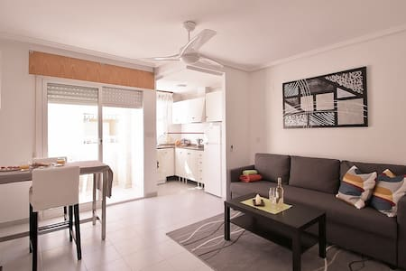 Southfacing apartment in the heart of Torrevieja! - Torrevieja - Apartmen