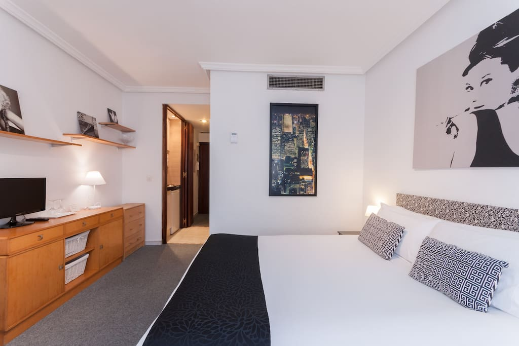 Beautifull studio calle serrano appartements louer - Les luxueux appartements serrano cero madrid ...