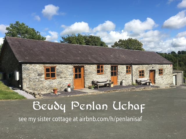 Self catering cottage apartment Beudy Penlan Uchaf