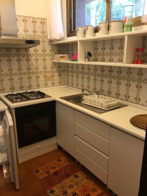 L'ambiente cucina.