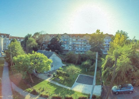 City oasis for four near Zagreb