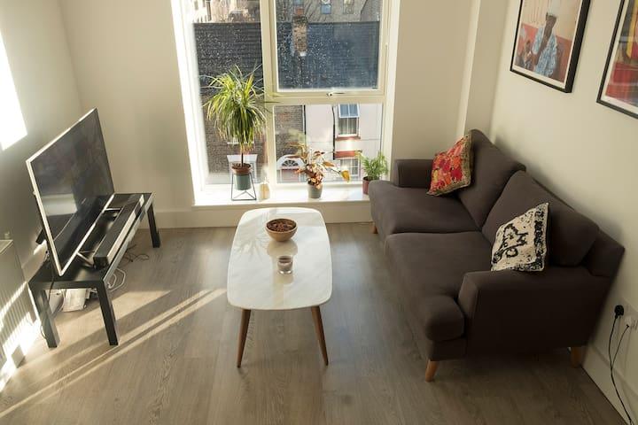 Bright, spacious modern flat in Bruce Grove