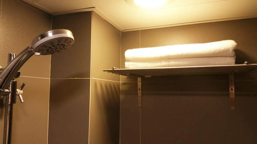 Attached private bathroom-toilet