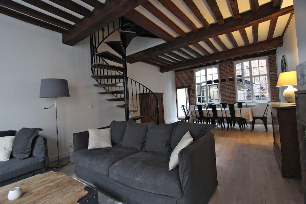 au coeur du vieux lille maisons louer lille nord pas de calais france. Black Bedroom Furniture Sets. Home Design Ideas