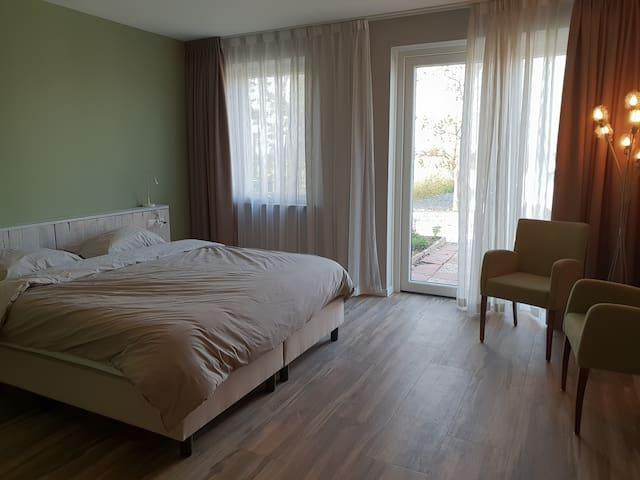 2 kamers incl. ontbijt tussen Haarlem en Amsterdam