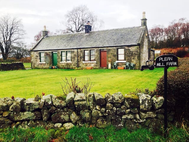 Plean Mill Farm Cottage - Falkirk - Haus