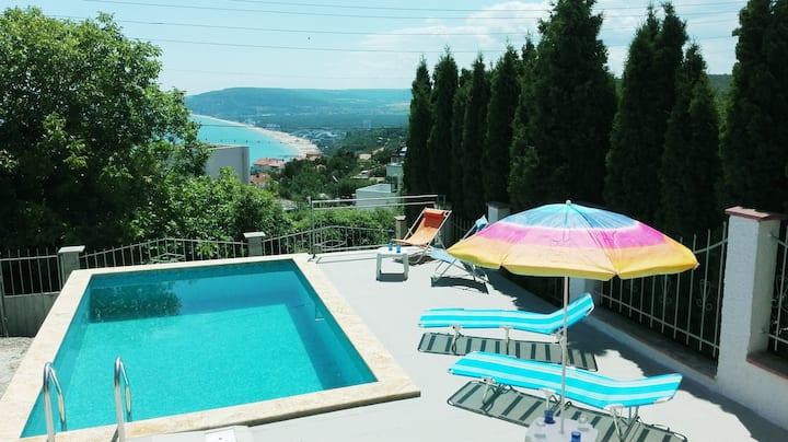 Villa Albena view