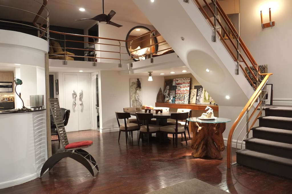 Huge loft heart of upper west side apartments for rent for New york upper west side apartments