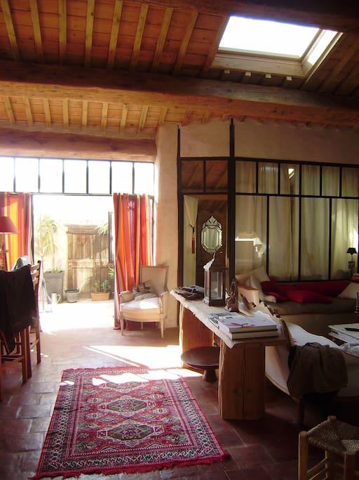 loft ecologique en corbieres lofts louer villes que des corbi res languedoc roussillon. Black Bedroom Furniture Sets. Home Design Ideas