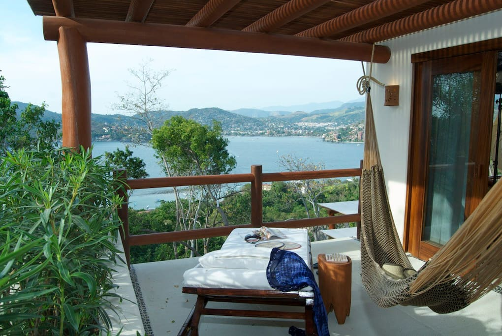 Lounge away the day on your private terrace