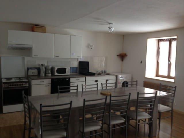 Gentiane 8 à 10 pers - Haut-Jura - Les Molunes - Apartmen