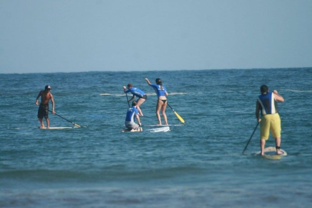 On the beach … StandUp Paddle, Surf, Tropical Sunning ...