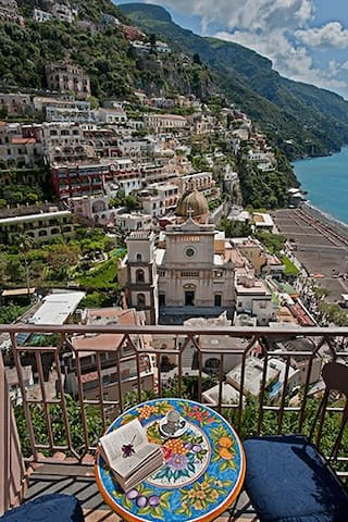 Lovely apartment By Villa le Sirene, gorgeous view - Positano - Loft