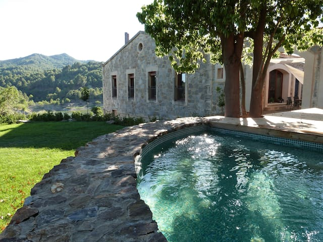 Casa Vella del Panta, masia rural - Riudecanyes - Dom