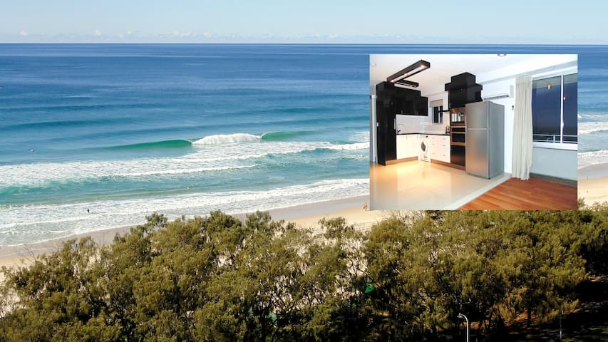 Studio apartment with panaromic ocean views - Surfers Paradise - Byt