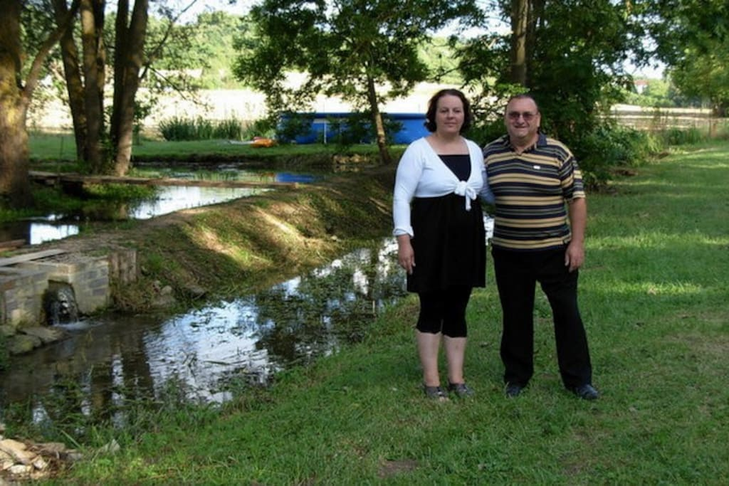 Les propriétaires Me et Mme Debreilly/Tachot