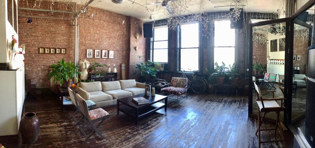 Authentic New York Artist Loft on the Bowery