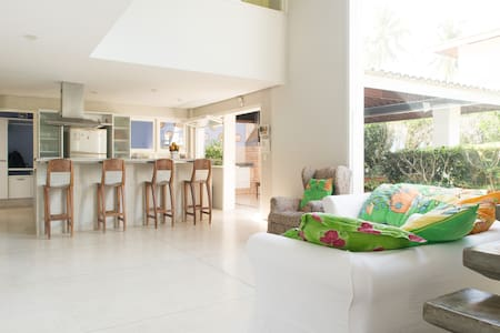 House @Salvador  with private beach