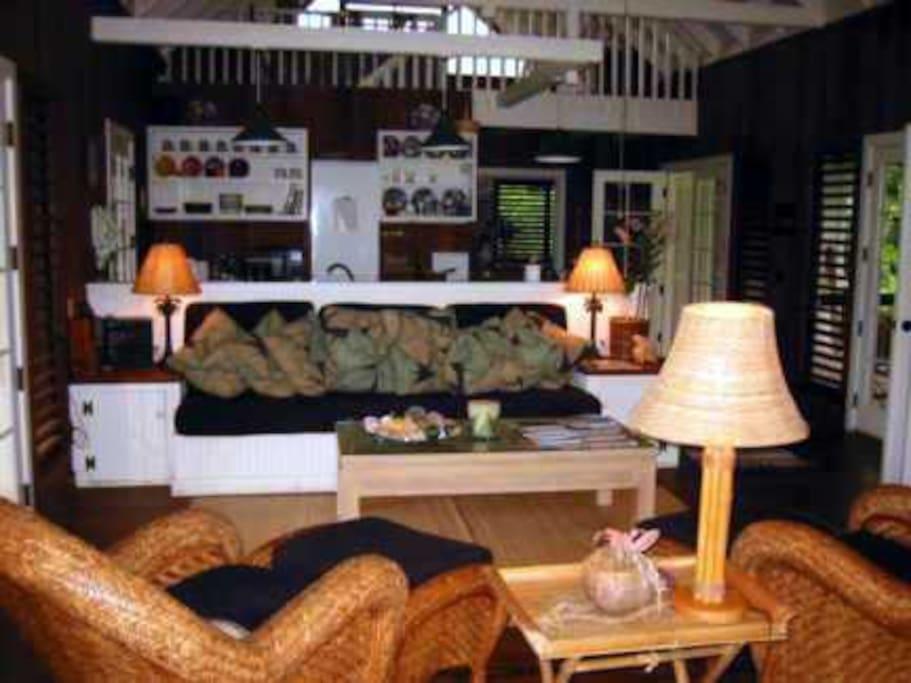 Plumeria's livingroom