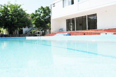 Rooms/Pool-20min from Barranquilla - Ház