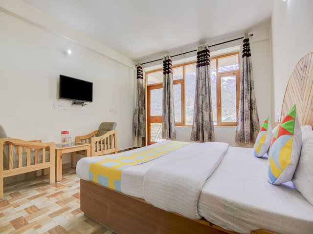 2BR Hill View Cottage in Pangan, Manali-Flash Sale
