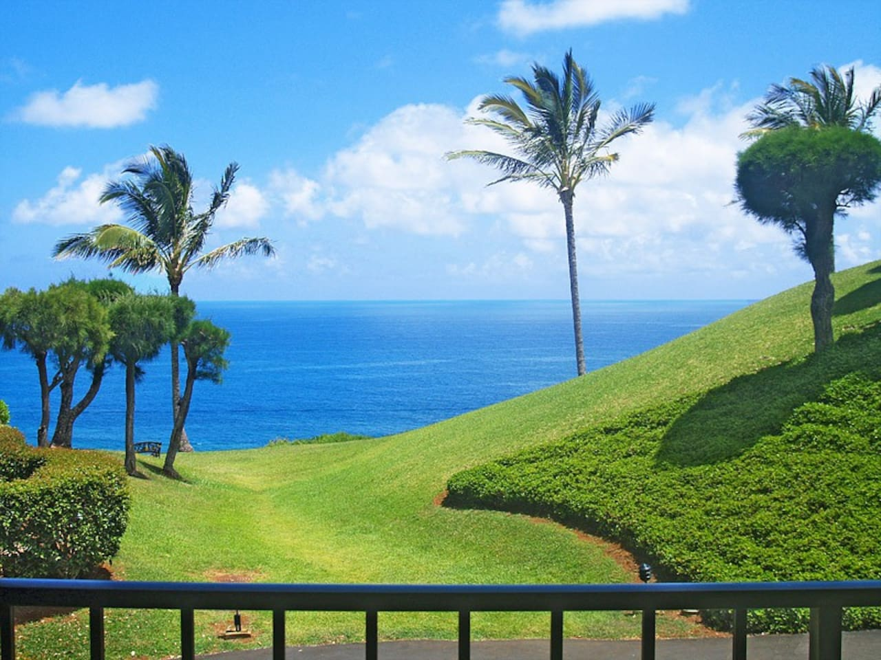 View from living room and lanai