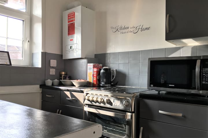The kitchen (limited use - please read house rules)