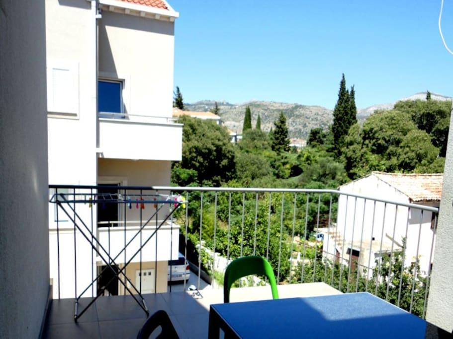 terrace view aora