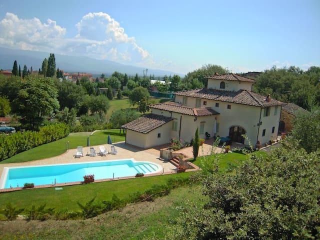 Chianti villa Florence Siena Arezzo - Castelnuovo dei Sabbioni