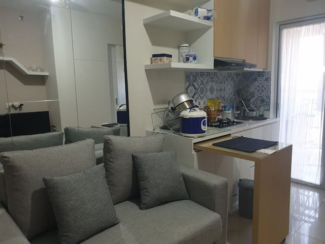 Cozy affordable 1BR at Bassura near South Jakarta