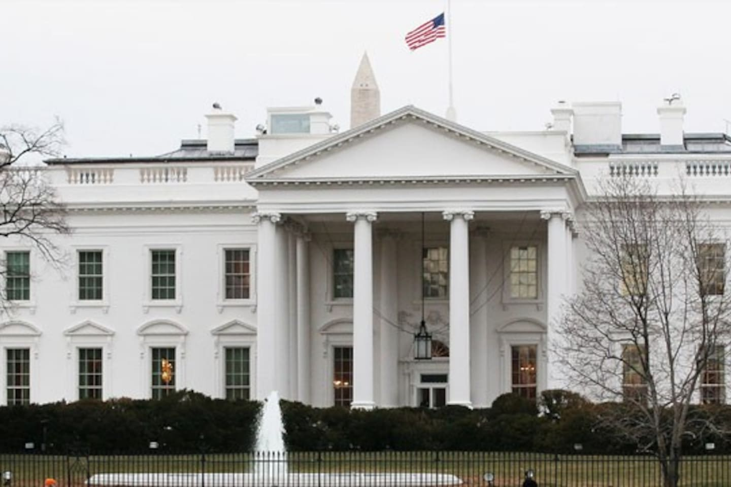 The White House is the top attraction.