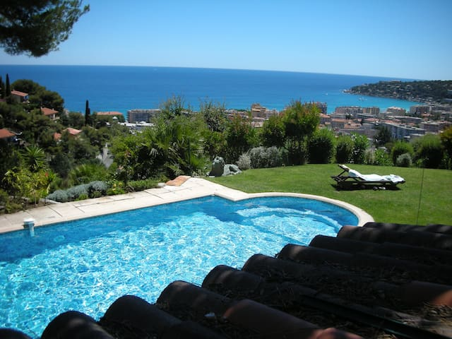 Villa swimming-pool, French Riviera - Menton - Villa