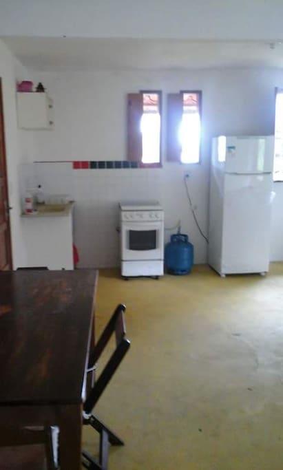 Cozinha completa, tudo num SÓ Ambiente