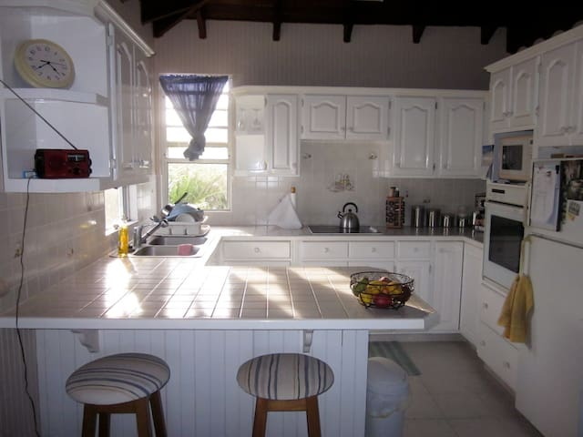 1 bed apt only 100 mts to lovely beach - Oistins - Apartment