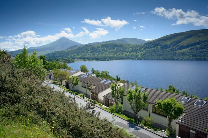 Grouse Lodge at Loch Rannoch