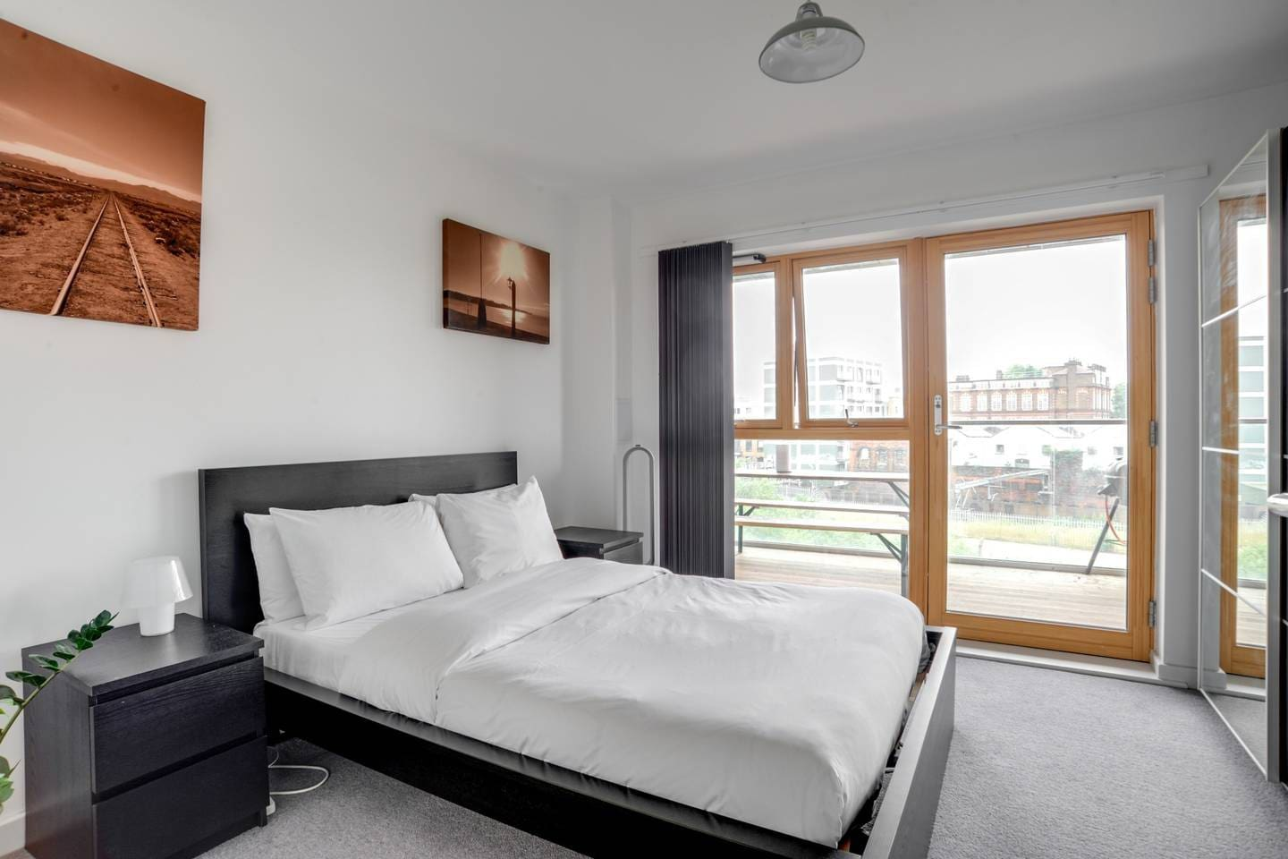 Private bedroom with balcony access