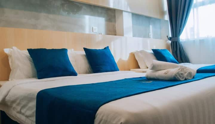 Kuah Langkawi@2 Bedroom Suite (Max 6 pax)