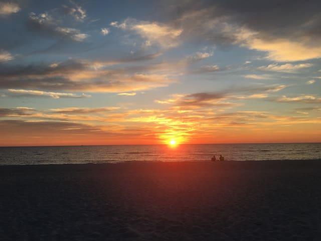 Sunset in TI