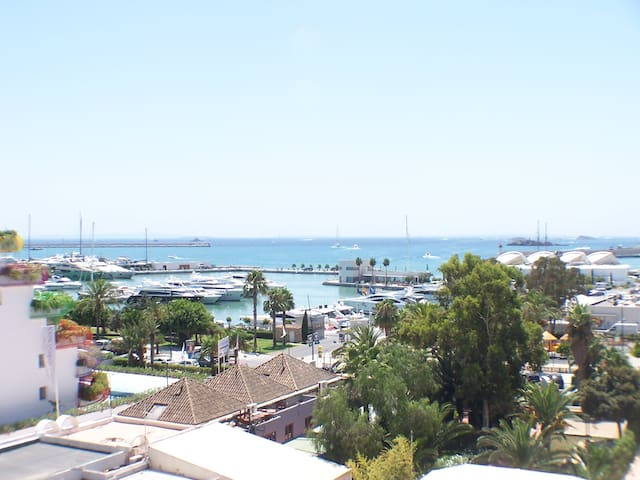 Marina botafoch: 2 rooms with pool  - Ibiza - Appartement